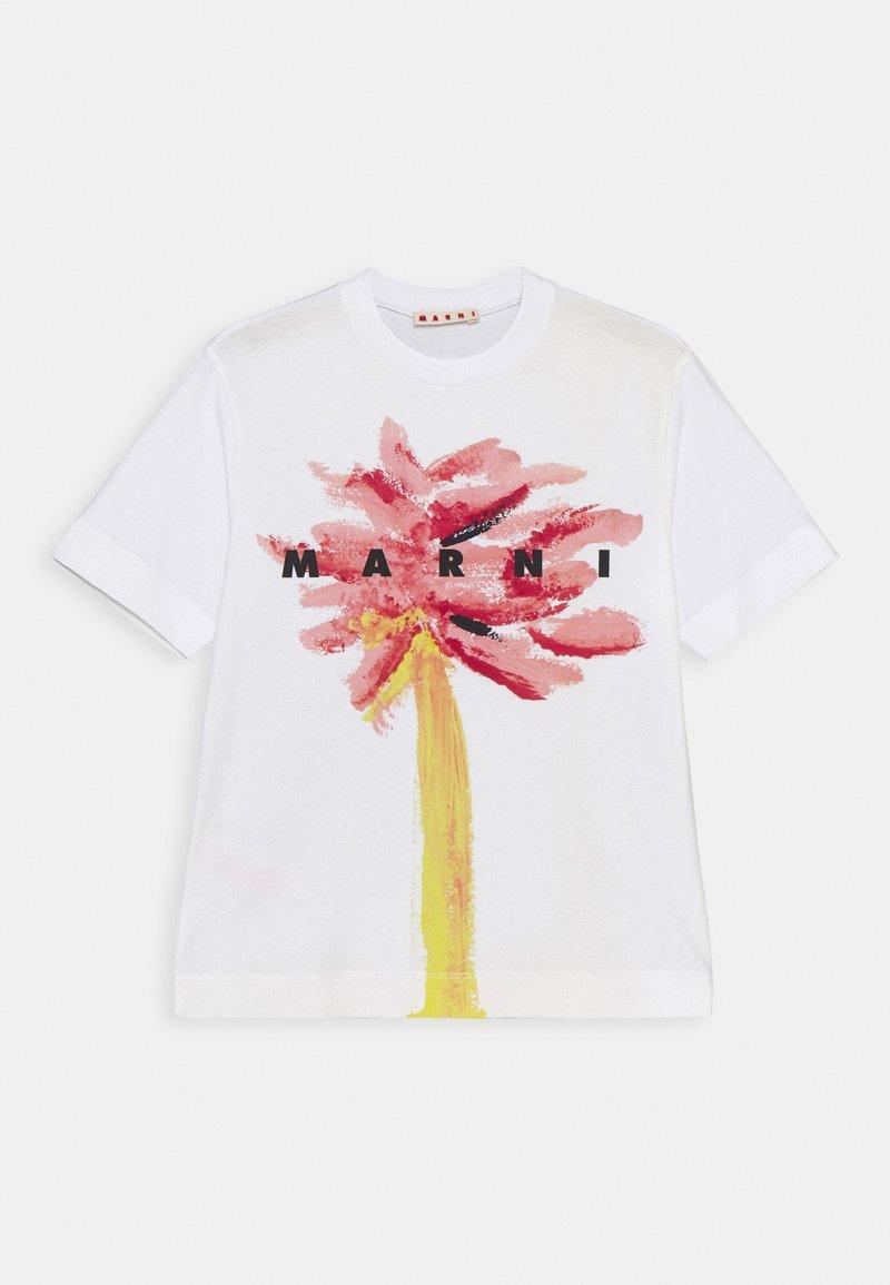Marni - MAGLIETTA UNISEX - Print T-shirt - quartz rose