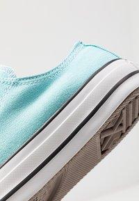 Converse - CHUCK TAILOR ALL STAR - Sneakers - bleached aqua/white/black - 5