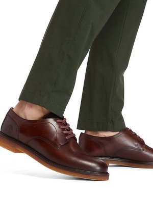 OXFORD - Casual lace-ups - rust