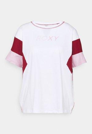 GOOD MORNING SONG - Print T-shirt - bright white