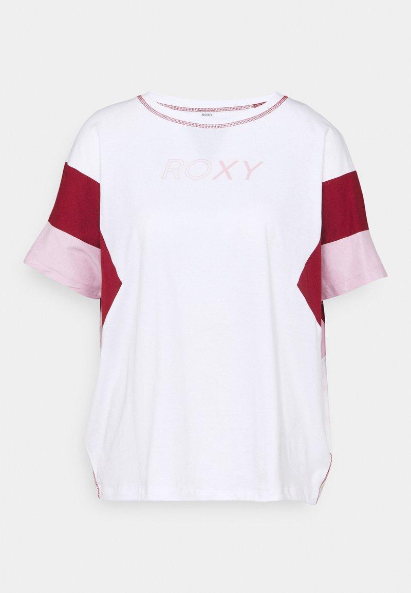 Roxy - GOOD MORNING SONG - Print T-shirt - bright white