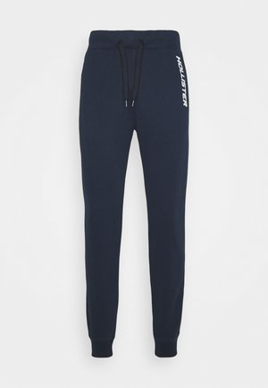 TERRY JOGGER - Tracksuit bottoms - navy