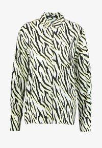 someday. - ZITA ANIMAL - Button-down blouse - black - 3