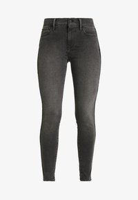 Levi's® - 710 INNOVATION SUPER SKINNY - Jeans Skinny Fit - black denim