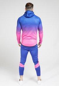 SIKSILK - Zip-up hoodie - blue neon fade - 2