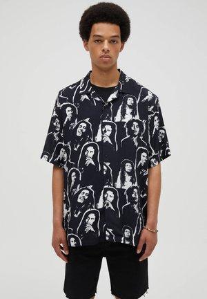 BOB MARLEY - Shirt - black