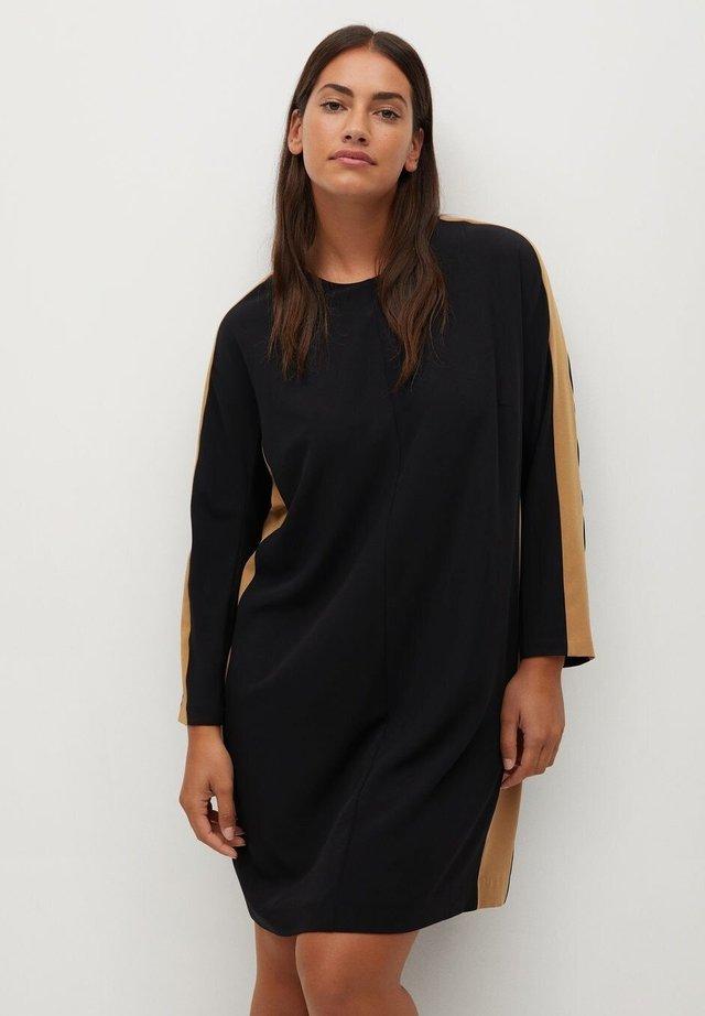 PIPING7 - Jersey dress - schwarz