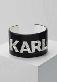 KARL LAGERFELD - CUFF - Bracelet - black - 0