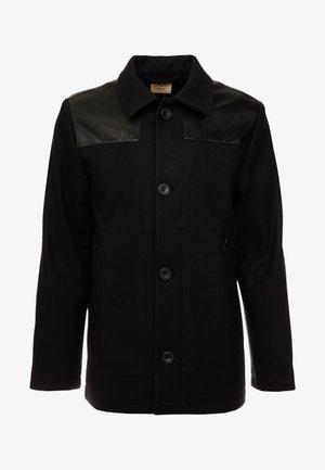 BERTIE - Lehká bunda - black