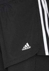 adidas Performance - PACER 2 IN 1 - Pantalón corto de deporte - black/white - 6