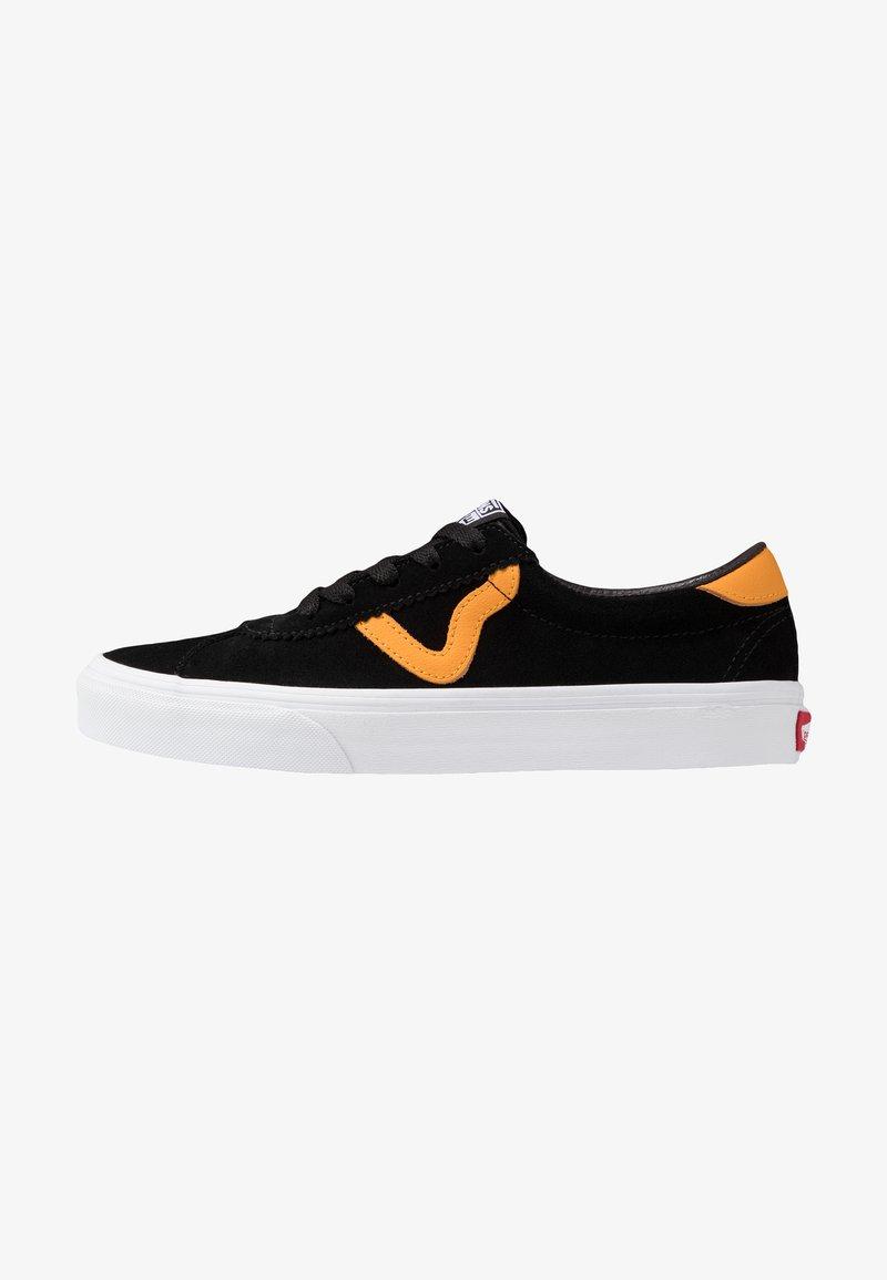 Vans - UA Vans Sport - Sneakersy niskie - black/cadmium yellow