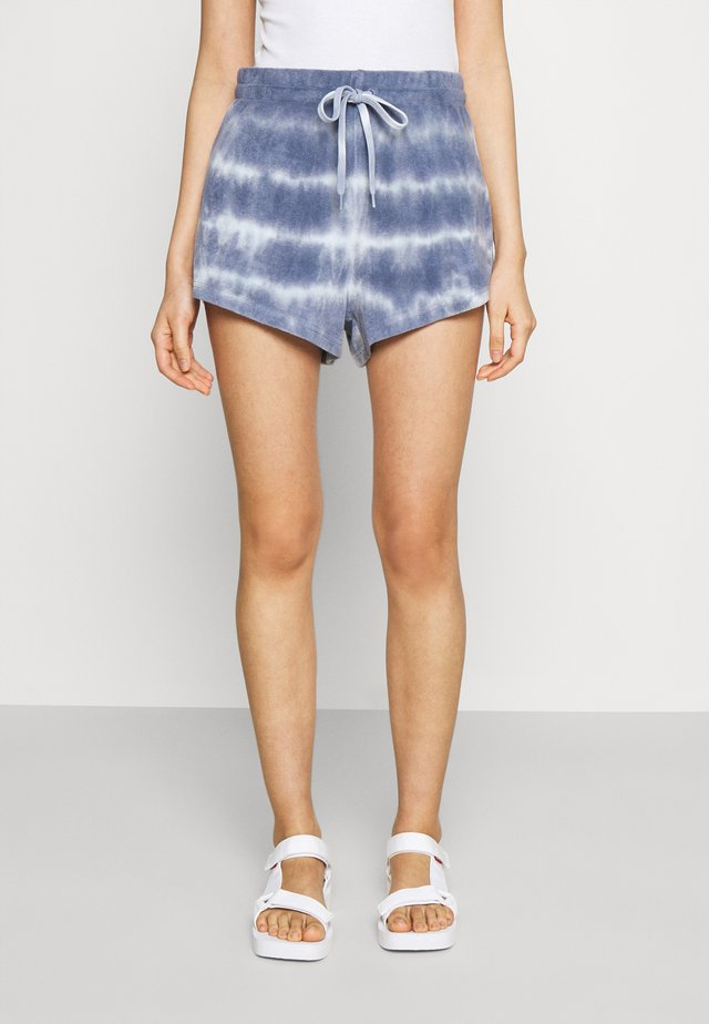KARIN - Shorts - blue tie dye