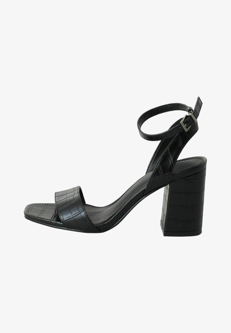 Pimkie - Sandały na obcasie - schwarz