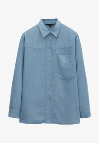 Massimo Dutti - Overhemdblouse - light blue - 3