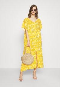 Monki - APRIL DRESS - Maxikjole - beige/yellow - 1