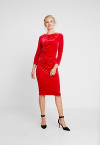 InWear - NISAS DRESS - Vestido de cóctel - real red - 2