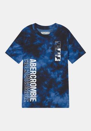 TREND PRINT LOGO - Print T-shirt - black