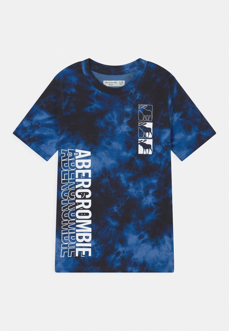 Abercrombie & Fitch - TREND PRINT LOGO - Print T-shirt - black