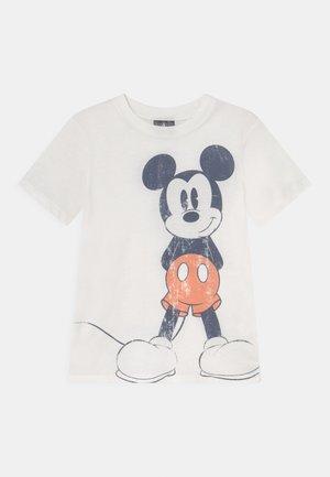 SHORT SLEEVE TEE - T-shirt con stampa - retro white