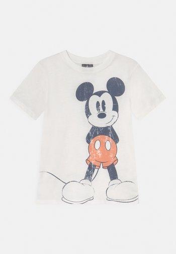 SHORT SLEEVE TEE - T-Shirt print - retro white