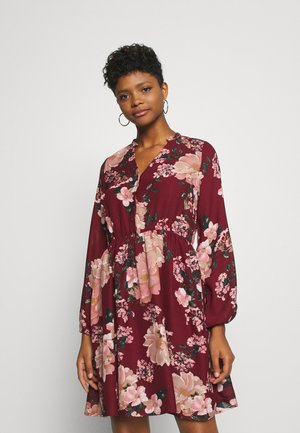 VMSUNILLA DRESS  - Robe d'été - cabernet/sunilla