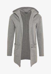 GORDON - Zip-up hoodie - silver