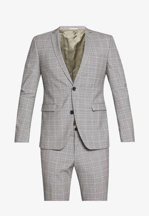 PRINCE CHECK - Garnitur - light grey
