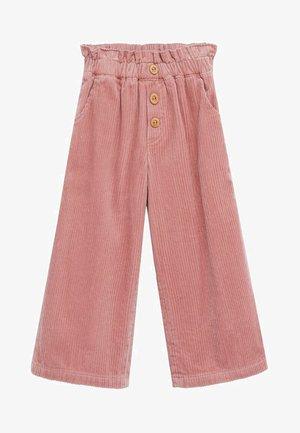 LINA - Trousers - růžová