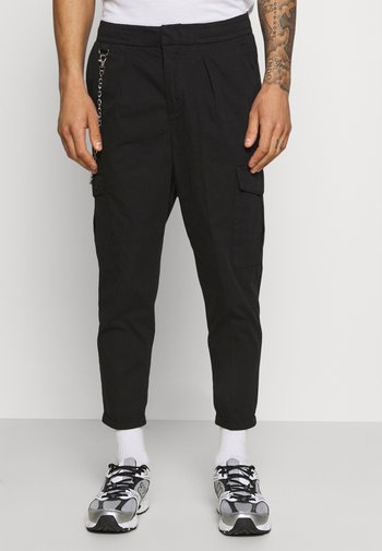 HARVEY PANTS - Pantalon cargo - black