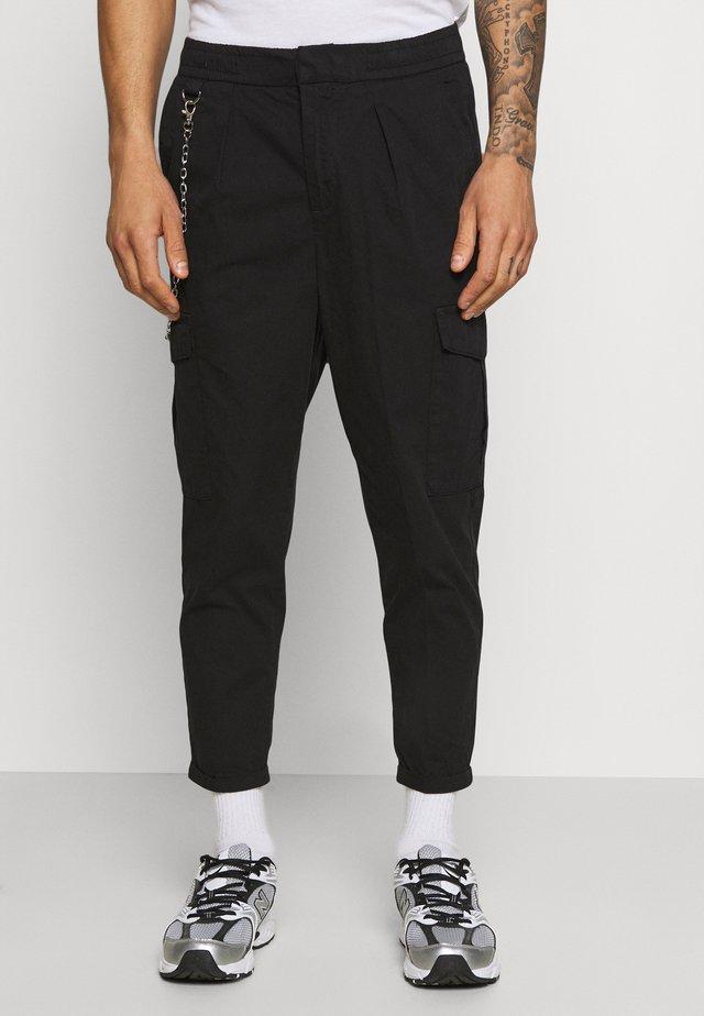 HARVEY PANTS - Pantaloni cargo - black