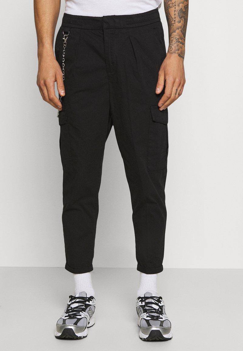 Redefined Rebel - HARVEY PANTS - Cargo trousers - black