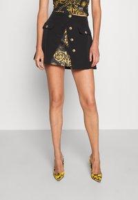 Versace Jeans Couture - SKIRT - Mini skirt - black - 0