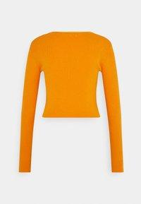 Glamorous - LONG SLEEVE CARDIGAN WITH FRONT FASTENING - Cardigan - orange - 1
