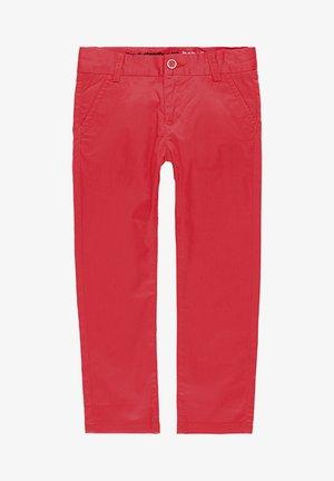 SATIN  - Spodnie materiałowe - red