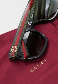 Gucci - 30000981002 - Sonnenbrille - black/green/grey - 4