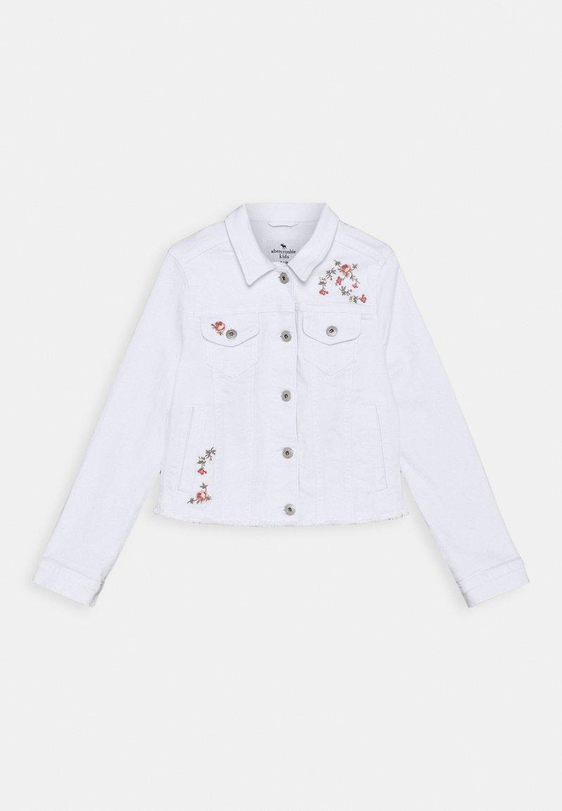 Abercrombie & Fitch - Denim jacket - cream