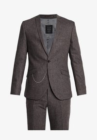 Shelby & Sons - NEWTOWN SUIT - Suit - dark brown - 10