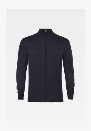 CLASSIC SPORT ZIP KNITTED - Cardigan - sartho blue