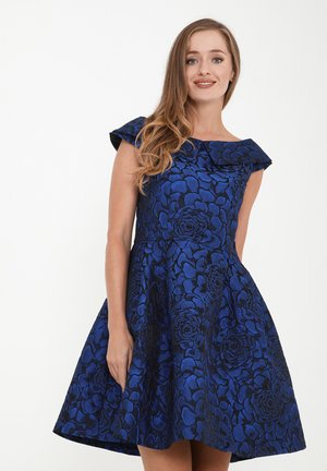 LUDOVIKA - Day dress - schwarz, indigo