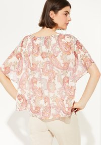 comma - MIT PAISLEY-MUSTER - Blouse - rose summer paisley - 2