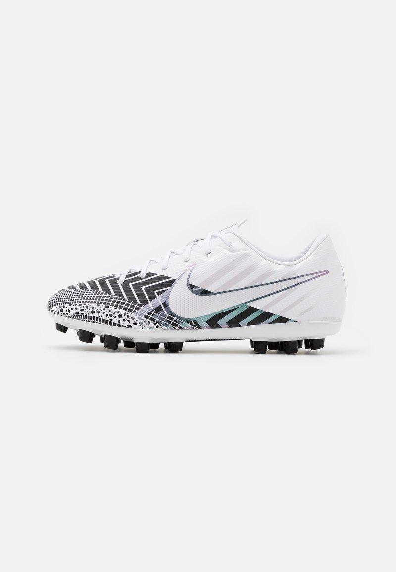 Nike Performance - MERCURIAL JR VAPOR 13 ACADEMY AG UNISEX - Moulded stud football boots - white/black