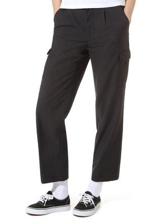 SHOE LACE - Pantaloni cargo - black