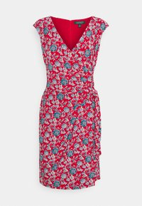Lauren Ralph Lauren - PRINTED MATTE DRESS - Žerzejové šaty - red/blue/multi - 3