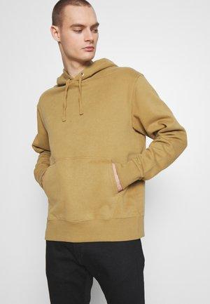 HELMER HOODIE - Hoodie - beige dark
