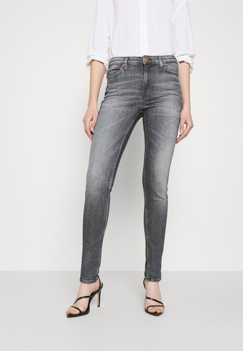 Tommy Jeans - NORA ANKLE - Jeans Skinny Fit - midnight grey