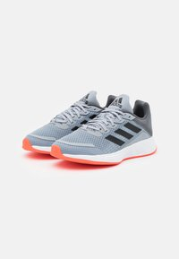 adidas Performance - DURAMO  - Trainings-/Fitnessschuh - halo silver/solar red - 1