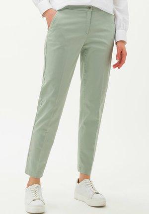 STYLE MARON - Pantalon classique - mint green