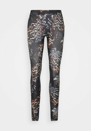 TRUSI  - Leggings - Trousers - black