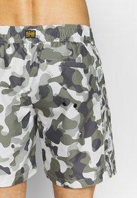 G-Star - DIRIK SIDE PANEL - Swimming shorts - cool grey birch - 2