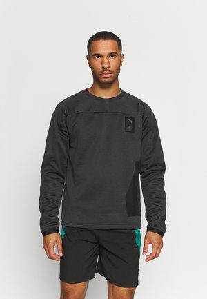 TRAIN FIRST MILE - Sweatshirt - black